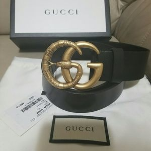 Accessories - Gucci belt snake buckle